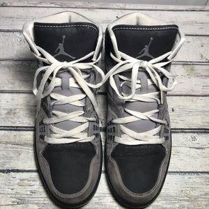 Air Jordan Flight 1 Gray Sneakers